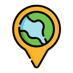 See more icon inspiration related to marker, earth, pin, point, globe, maps and location, map pointer, map point, map location, placeholder, navigation, interface, signs and location on Flaticon.