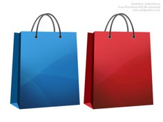 Shopping bag icon Free Psd. See more inspiration related to Icon, Shopping, Icons, Web, Bag, Shopping bag, Graphics, Psd, Web icons, High resolution, Horizontal, Objects, High and Resolution on Freepik.