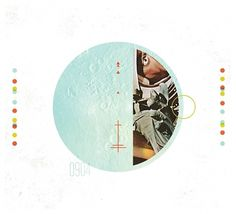 ReckerHouse #album #print #shapes #circles #space #rockettops #art #music #band #rockets
