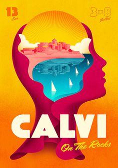 Calvi On the Rocks 2015 #poster #festival #calvi