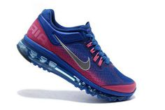 Air Max+ 2013 Gradient Blue-Pink Nike Womens Size Shoes #shoes