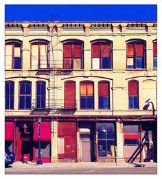 Minneapolis : Matt Travaille : Graphic Design | Minneapolis #urban #travaille #colorful #photography #building #minneapolis