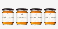 Honey Jars #packaging #typography