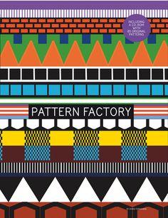 Ayako Terashima / the Pattern Factory #pattern #simple #illustration #triangle #blocks #colour #spike