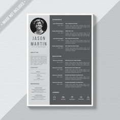 Grey cv template Free Psd. See more inspiration related to Mockup, Business, Template, Resume, Cv, Web, Website, Cv template, Mock up, Job, Document, Psd, Grey, Curriculum vitae, Templates, Website template, Page, Interview, Curriculum, Resume template, Mockups, Up, Experience, Web template, Employment, Realistic, Real, Web templates, Employer, Mock ups, Mock, Paperwork, Psd mockup, Ups and Vitae on Freepik.