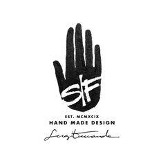SF identity Sergi Ferrando #logo #lettering #hand #made