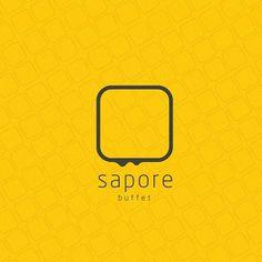 Flavio Barros | Designer Gráfico #logotype #branding #design #sapore #buffet #brand #logo
