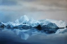 Pastel Icebergs by Zaria Forman 5 #painting #sea #art