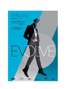 Fashion Symposium—Evolve Peter King—Graphic designer #poster #branding #evolve