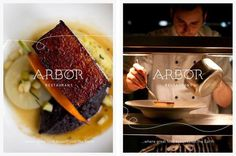 Arbor Restaurant #identitydesign #logo #food