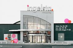BVD — Ingelsta Shopping #orientation #shopping #illustration #retail #bvd #logo #ingelsta #typography