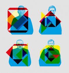 Liberté j'écris ton nom | tabaramounien – Studio de design graphique et multimédia àBordeaux depuis 2007 #tabaramounien #illustration #geometry