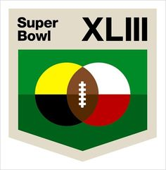 Alternative Super Bowl Logos - The New York Times > Sports > Slide Show > Slide 7 of 9 #logo #identity #aaron draplin #football #super bowl