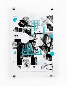 DIST Visual identity on the Behance Network #poster #typography