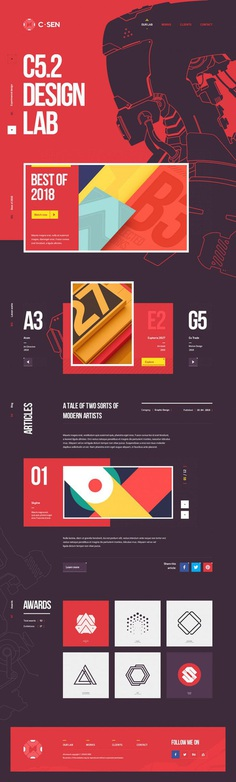 Website design / 3D edition