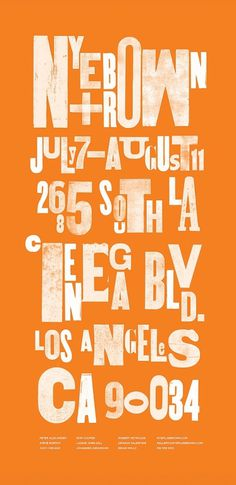 Summer Show - Kyle LaMar #letterpress #typography