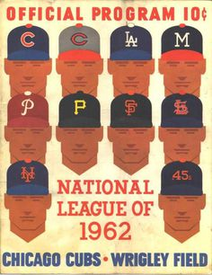 photo score1962.jpg #program #vintage #baseball #wrigley #cubs