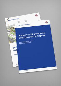 London Underground Asset Development Brand Identity