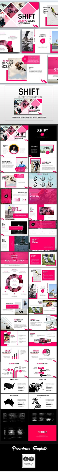 Shift Creative Presentation - graphicriver.net Item for Sale