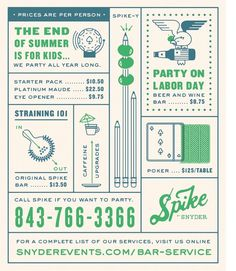Spike print ad #1 - fuzzco