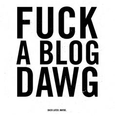 them thangs #profanity #blog #typography