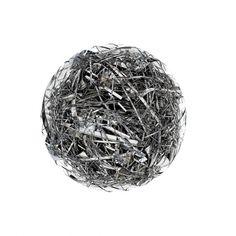 Sphere Scrap, photography by Gilbert Perrin #metal #sphere