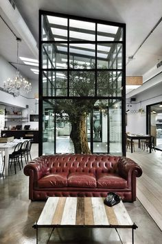 CJWHO ™ (Ravintola Kook Roomassa Restaurant Kook in Rome,...) #rome #tree #noses #architects #design #interiors #restaurant #architecture #italy