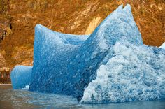 Mendenhall Glacier, Alaska, USA, 16 September 2010 #inspiration #photography #nature