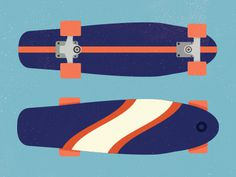 Skatedeck #illustration #design #micahurger