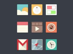Icons #icon #flat #mobile