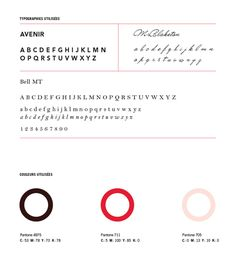 Le Saint Cochon on Behance #palette #colour #typography