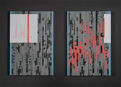 Typeforce 2 Exhibition Catalogue on the Behance Network