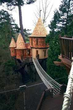 Living The Highlife Treehouse In Uk #treehouse