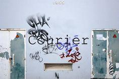 FFFFOUND! | 81_ricardocarvalhotypescourier.jpg 620×413 pixels #concrete #graffiti #wall #type #face