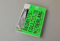 KUMMER & HERRMAN / Bedrijfscollecties in Nederland #diecut #bookdesign #neon