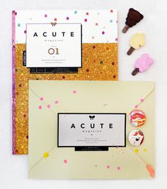 acute magazine #print #publication #girly #cute #acute #magazine