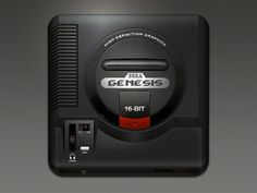 Sega Genesis #apple #genesis #icon #ipad #ui #iphone #ios #sega