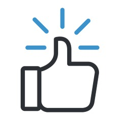 See more icon inspiration related to like, finger, thumb up, hands, gestures and hands and gestures on Flaticon.