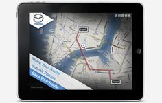 MAZDA IPAD APP : _ #ipad #design #graphic #app #mobile