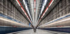 Andreas Paehge Captures Architectural Beauty of Metro Stations