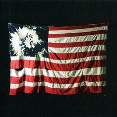 Carátula Cd de Akron Family Set 'em Wild, Set 'em Free #album #dye #flag #cover #tie