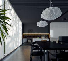 Juodas interjeras / Black interior. Personal project . View 01 #dizonaurai #black #vizualizacija #arch #interjeras