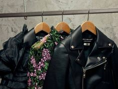Likes | Tumblr #jacket #flower #leather #shirt