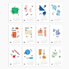 Mini Art Calendar The Mini Art Calendar is a minimalist's dream come true! With squiggles and shapes of modern elegance, this calendar is not only aesthetically pleasing but also eco-friendly. It is made out of sustainably sourced tree-free paper.