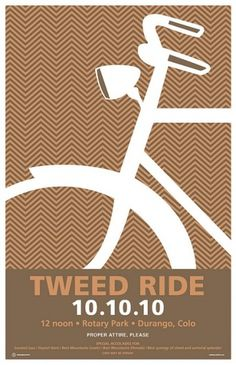 Durango Tweed ride poster | Flickr - Photo Sharing! #creative #ride #cabbage #bike #poster #tweed