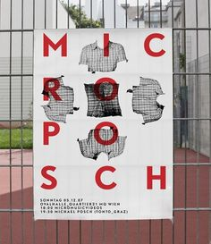 3b4e2f1bce75cd93a5c703994e488858.jpg (JPEG-Grafik, 600×695 Pixel) #micro #posch #poster #typography