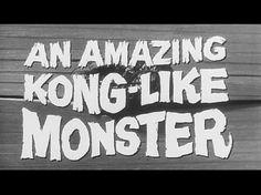 GILLA5.jpg (600×450) #film #lettering #white #kong #black #titles #vintage #and #king