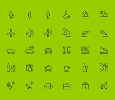 Airport Icon Design #icon #icopndesign #picto #line #stroke #symbol #airport