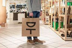 Designtorget by Kurppa Hosk #logo #mark #symbol #bag