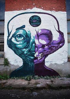 Super Colorful Graffiti by Sobekcis | Abduzeedo | Graphic Design Inspiration and Photoshop Tutorials